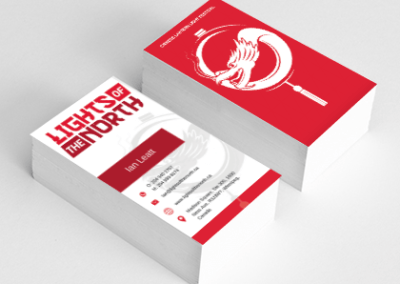 Lights of The North Business Cards